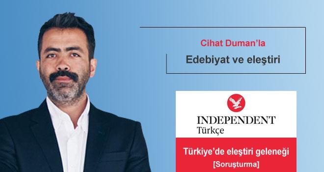 Cihat Duman: 'Türkiye'de bir edebiyat gelişiminden bahsetmek çılgınlık olur'