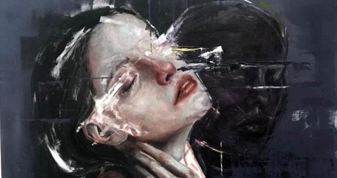 Genç ressam Sinem Demirci'den 'Ardımdaki Kadın'